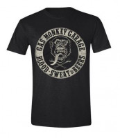 Gas Monkey Garage T-Shirt Blood Sweat and Beers Black