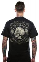 Lucky 13 T-Shirt Dead Skull Black
