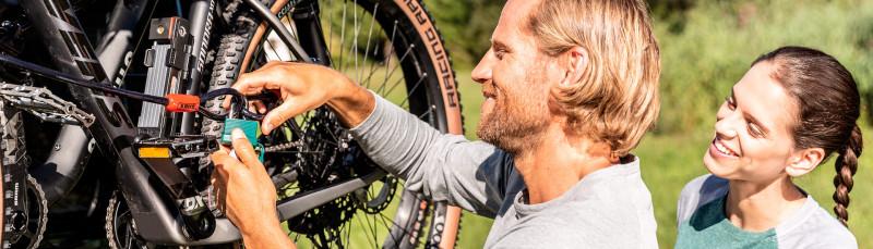 ABUS bike helmets locks accessories