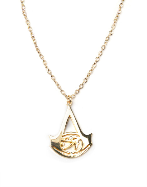 Assassin's Creed Necklace Creed Logo Gold