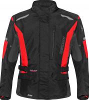 Germot Jacke Textiljacke Aron Junior Schwarz/Rot