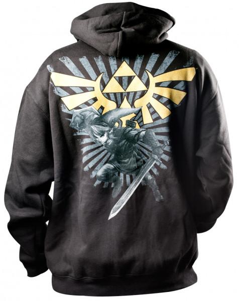 Nintendo Hoodie Zelda Black
