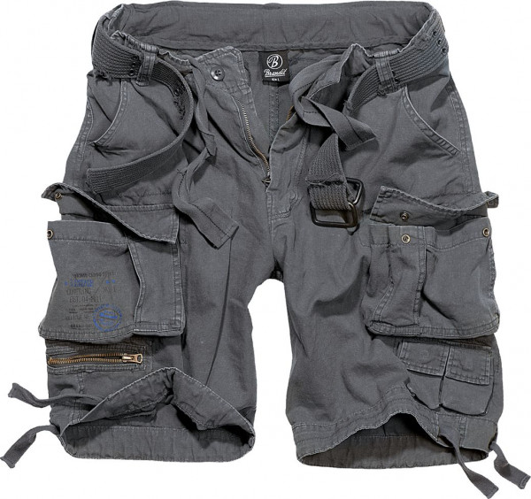 Brandit Shorts Savage Vintage in Anthracite