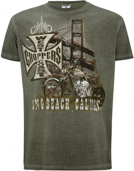 WCC West Coast Choppers T-Shirt Bridge Green