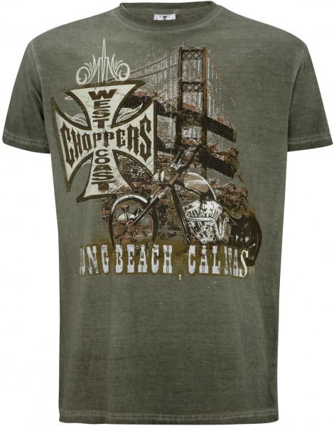 WCC West Coast Choppers T-Shirt Bridge Green