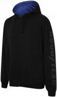 Goodyear Hoodie GYSWT023 Men's Hooded Zip Thru Sweater Black