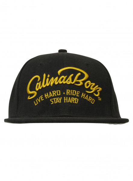 Salinas Boys Cap Live Hard Black