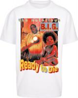 Mister Tee T-Shirt Biggie Ready To Die Oversize Tee White