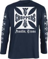 WCC West Coast Choppers Longsleeve OG Logo ATX Navy