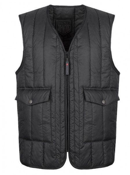 John Doe Weste Originals Vest Black