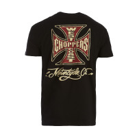 WCC West Coast Choppers T-Shirt Motorcycle Co. Tee Black