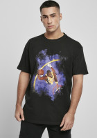 Mister Tee T-Shirt Basketball Clouds 2.0 Oversize Tee Black