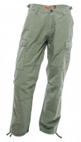 WCC West Coast Choppers Cargo Pants Caine Ripstop Cargo Green