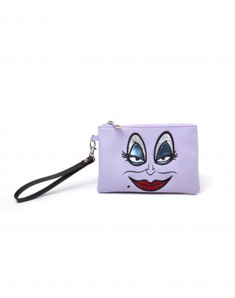 Disney Little Mermaid Ursula Pouch Wallet Purple