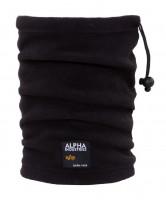 Alpha Industries Label Fleece Tube Black