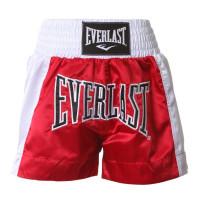 Everlast Boxhose Thai Boxing Shorts EVHEM6 Red/White