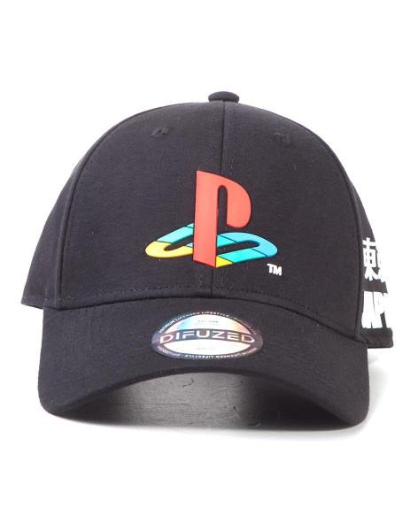 Sony - Playstation Curved Bill Cap Black