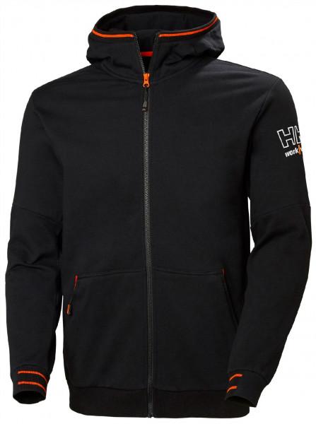 Helly Hansen Hoodie / Sweatshirt 79243 Kensington Zip Hoodie 990 Black
