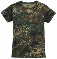 Brandit Damen Ladies T-Shirt Flecktarn