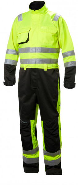Helly Hansen Overall 77610 Alna Suit 369 Yellow/Charcoal