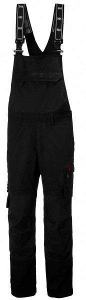 Helly Hansen Shorts / Hose 77562 Oxford Bib 990 Black