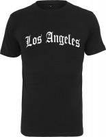 Mister Tee T-Shirt Los Angeles Wording Tee Black