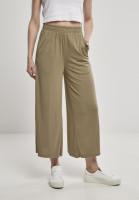 Urban Classics Damen Hose Ladies Modal Culotte Khaki