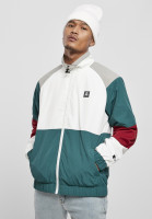 Starter Black Label Jacke Starter Color Block Retro Jacket Retro Grn/White/Brick Rd/Grey