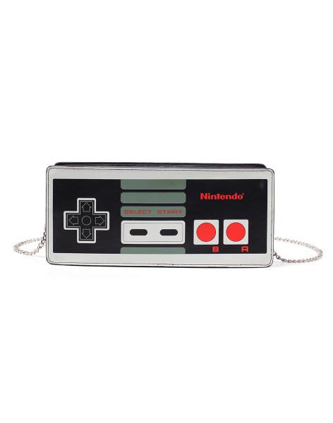 Nintendo Handbag NES Controller Ladies Purse Multicolor