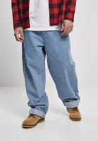 Southpole Trousers Denim Pants Retro Mid Blue