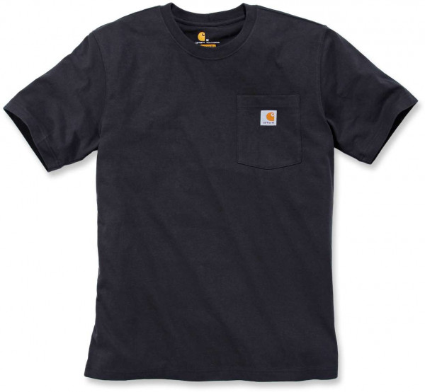 Carhartt Herren T-Shirt Workw Pocket T-Shirt S/S Black