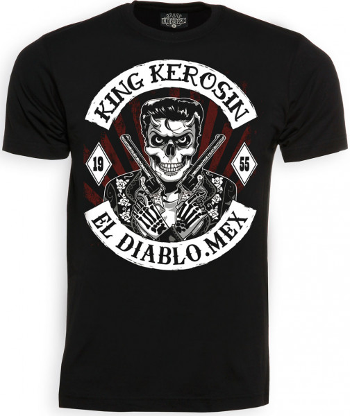 King Kerosin Shirt El Diablo 1955 Black
