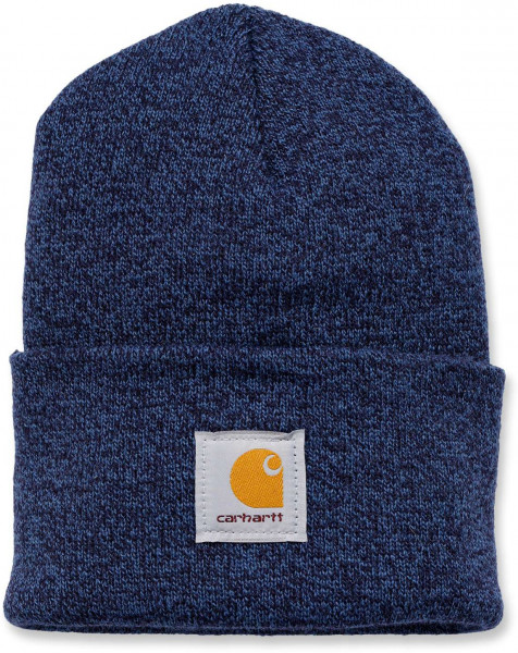 Carhartt Herren Mütze Acrylic Watch Hat Weathered Blue