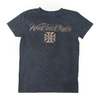 WCC West Coast Choppers T-Shirt Eagle Crest Tee Magic Day Blue
