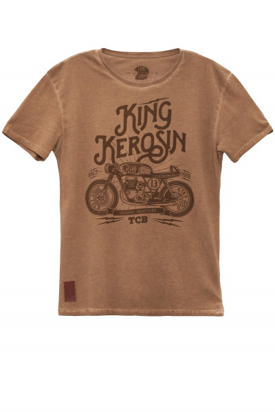 King Kerosin T-Shirt TCB Brown