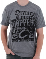 OCC Orange County Choppers T-Shirt Tri-Blend Grey