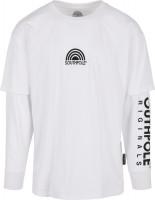 Southpole T-Shirt Basic Double Sleeve Tee White