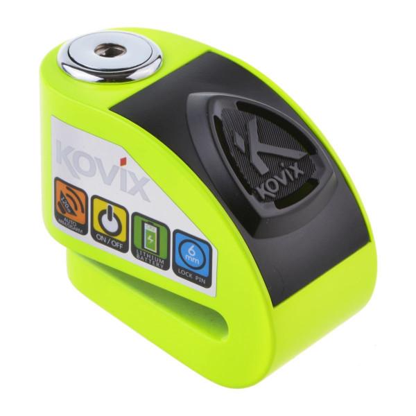 Kovix Kd6 6mm Pin Alarmbremsscheibenschloss Green