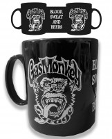 Gas Monkey Garage Kaffeebecher Blood Sweat and Beers Coffee Mug Black