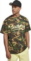 Southpole T-Shirt Short Sleeve Tee Korean Camo
