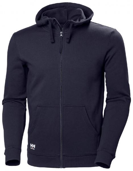 Helly Hansen Hoodie / Sweatshirt 79216 Manchester Zip Hoodie 590 Navy