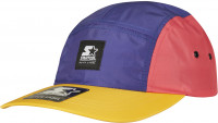 Starter Black Label Cap Starter Multicolored Logo Patch Jockey Cap Pink/Blue/Orange