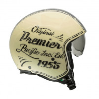 Premier Motorrad Helm Rocker Helme Or 20 Beige
