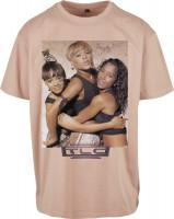 Mister Tee T-Shirt TLC Group Logo Oversize Tee Amber