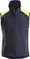 Snickers Workwear FlexiWork Neon Weste Navy/Neongelb