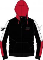 WCC West Coast Choppers Hoodie Kimi Raikkönen Signature Black/Red/White
