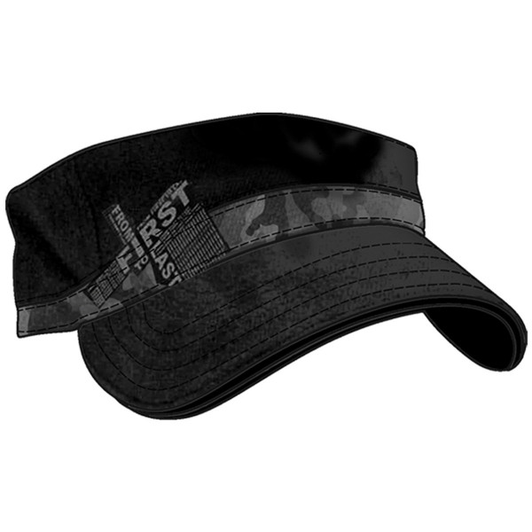 From first to last Cap Black Fitted Cadet Black