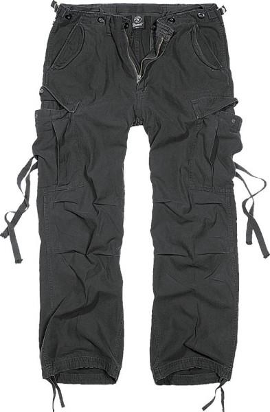 Brandit Hose M65 Vintage Trouser in Black
