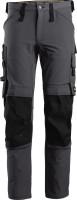 Snickers Workwear AllroundWork Full Stretch Arbeitshose Stahlgrau/Schwarz