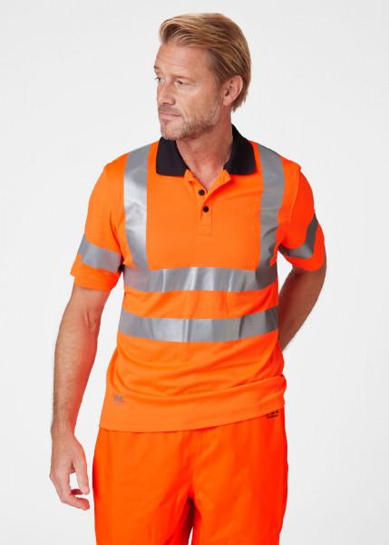 Helly Hansen T-Shirt 79091 Addvis Polo 260 Orange